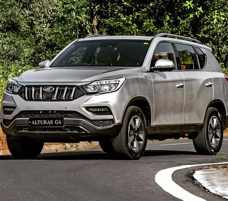 Mahindra Alturas G4 Official Photos Of Toyota Fortuner Rival Released