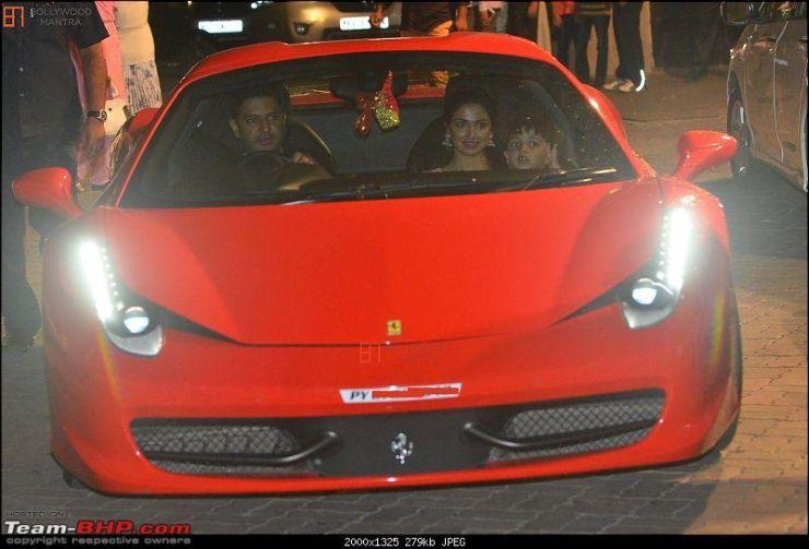 Bhushan Kumar Ferrari 458 Spyder