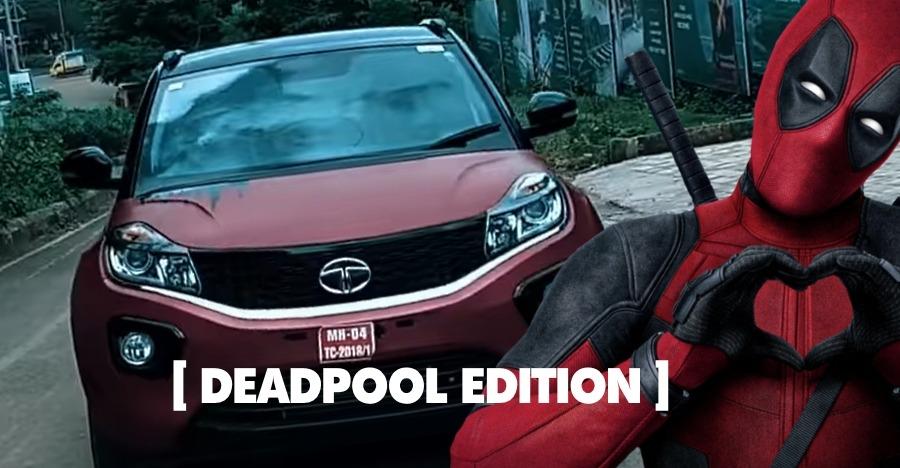 This Tata Nexon wants to be Deadpool's ride