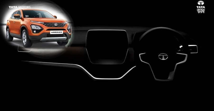 Tata Harrier interiors teased in 2 new videos!