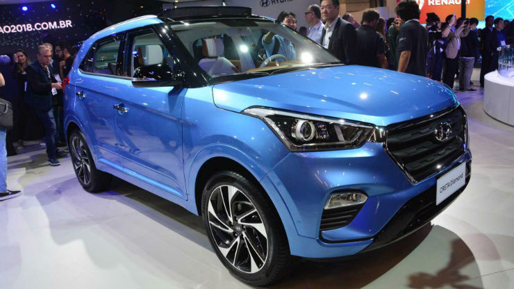 Hyundai Creta Diamond Salao De Sp 2018