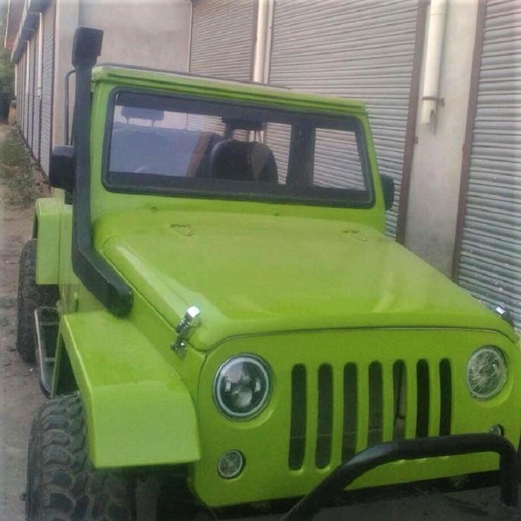 Jeep Wrangler Mod