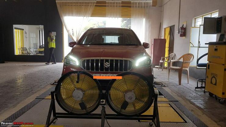Maruti S-Cross modified to produce 165 Bhp power