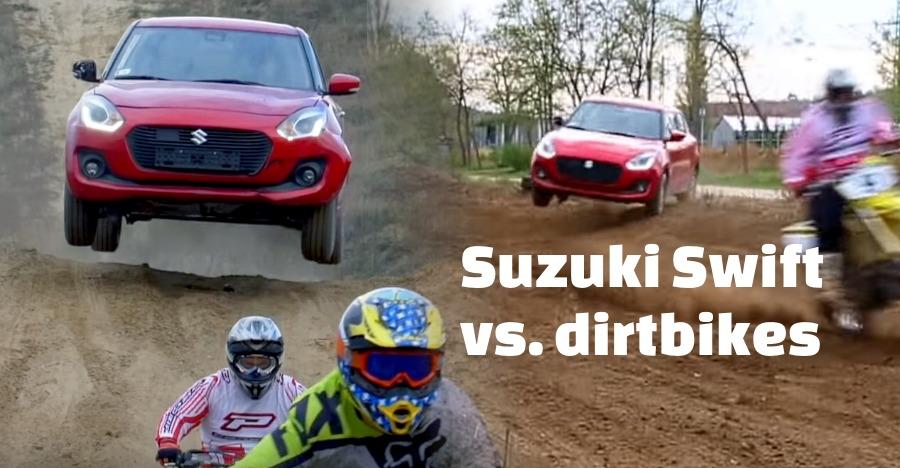 Suzuki Swift Vs Dirt Bikes