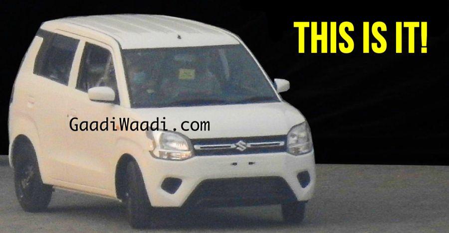 All-new Maruti WagonR fully REVEALED!