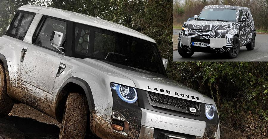 2020 Land Rover Defender Featured