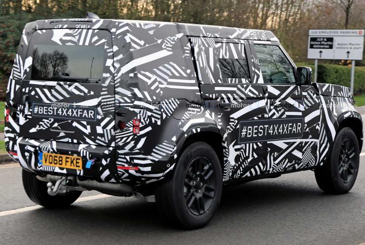 2020 Land Rover Defender Spyshot 3