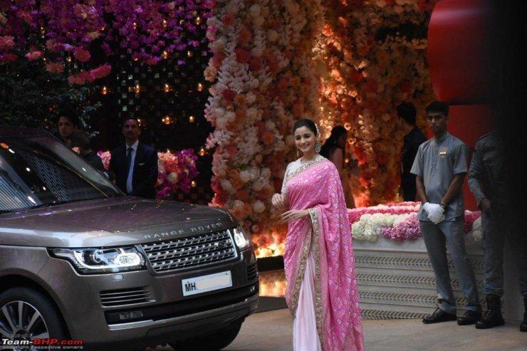 Alia Bhatt Range Rover Vogue