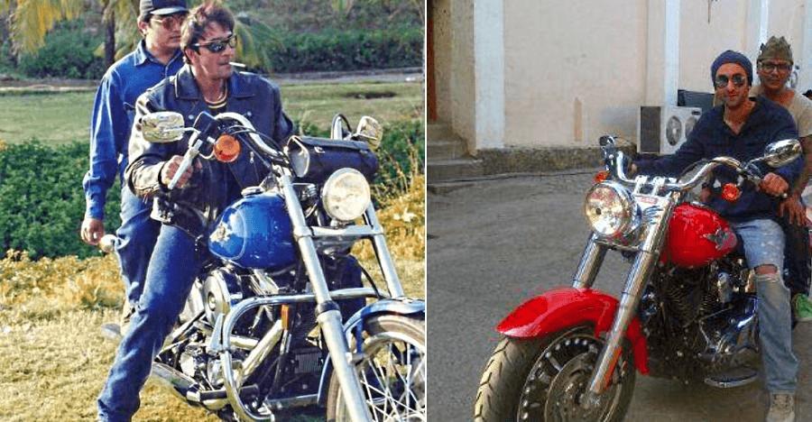 Harley Davidson motorcycles of famous Indians: Sanjay Dutt to Ranbir Kapoor