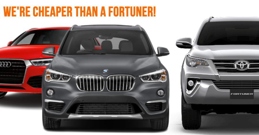Brand NEW Audi & BMW cars selling at lower prices than Toyota Fortuner: Here's why