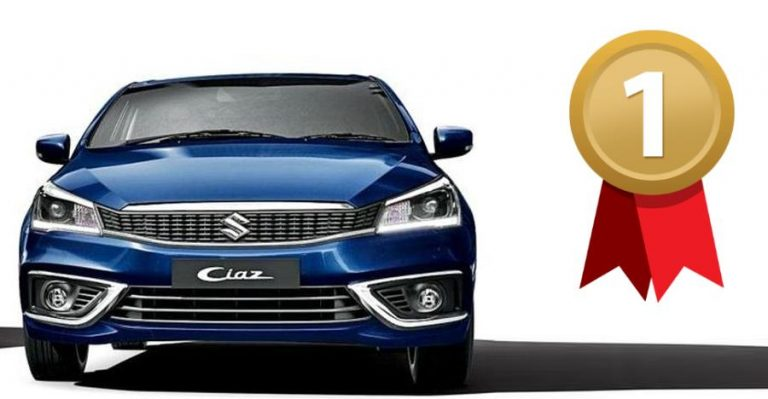 Ciaz Number 1 Featured