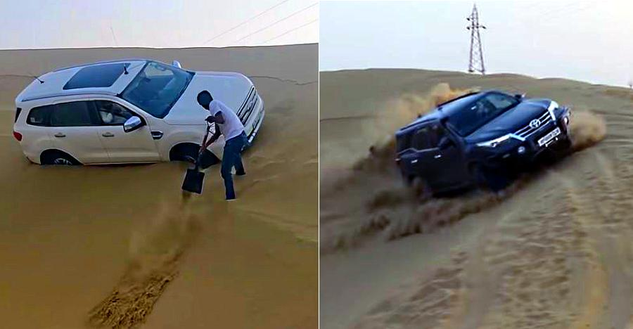 Endeavour Fortuner Dune Bashing Featured
