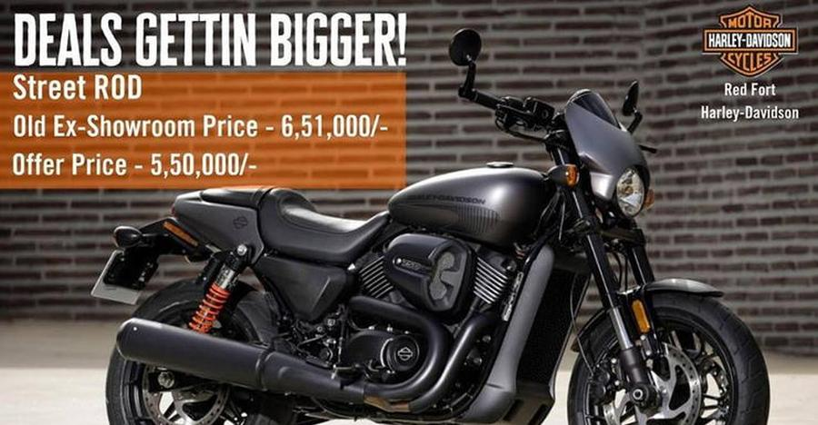 Harley Davidson Street Rod 750 & Sportster 883 get 1 lakh+ discounts: Intercepted by Royal Enfield?