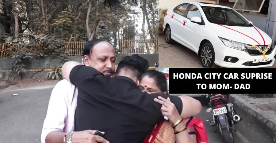 Surprise! Son gifts all-new Honda City to mom & dad [Video]