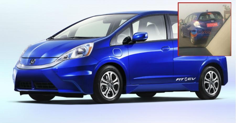 Scoop: Honda is testing the Jazz EV in India