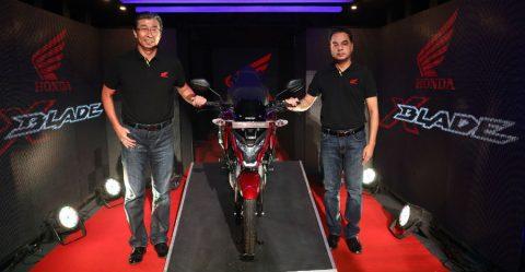 Honda X Blade Abs Launch Feature