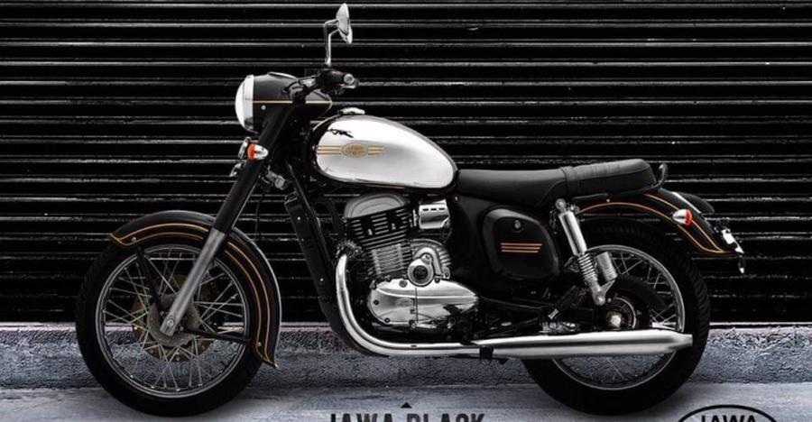 Jawa Classic motorcycle now available in Black & Grey colours