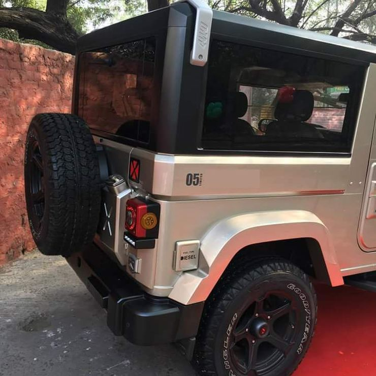 Mahindra Thar Ranger 2