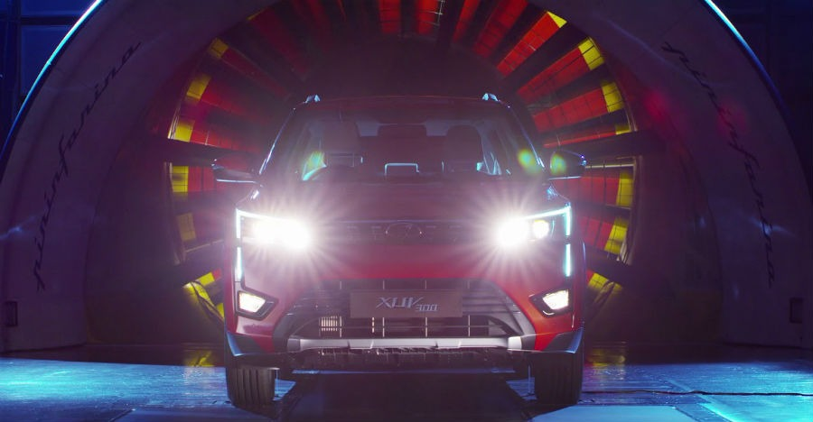 Mahindra XUV300 SUV: Watch it testing in a wind tunnel