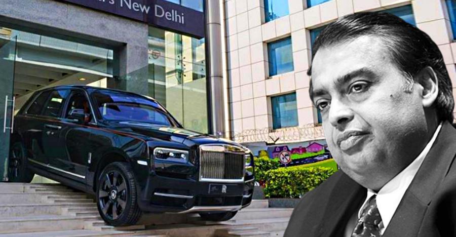 Image result for mukesh ambani Rolls Royce Phantom car