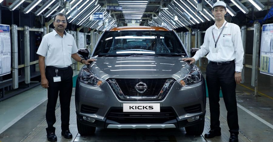 New Nissan Kicks Production Featured