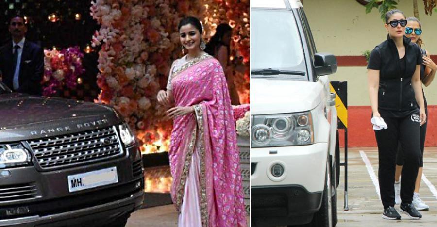 Alia Bhatt to Kareena Kapoor: Bollywood actresses & their Land Rover SUVs