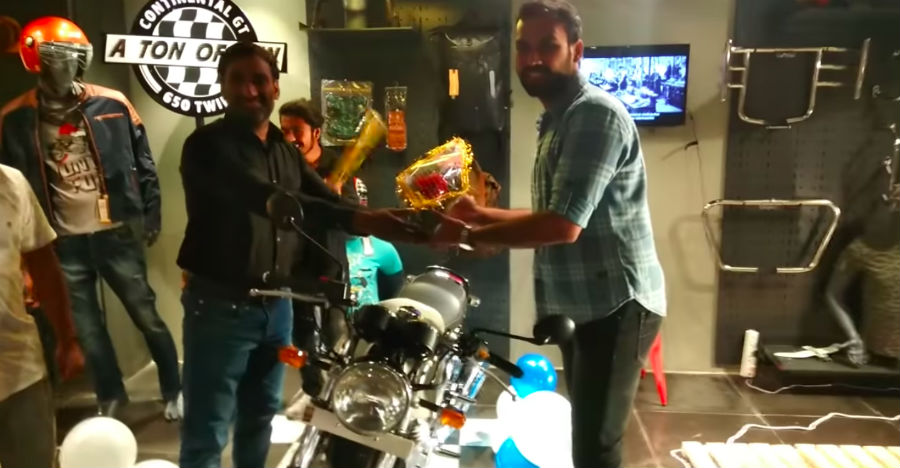 Royal Enfield Continental Gt Delivery