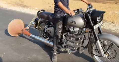 Royal Enfield Massive Silencer
