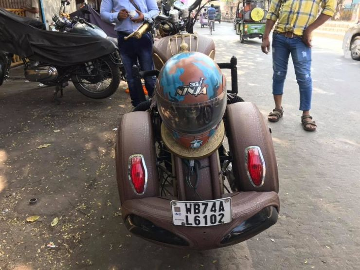 Royal Enfield Indian Modification 3
