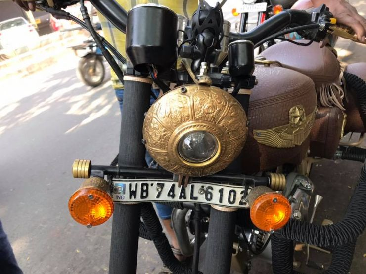 Royal Enfield Indian Modification 4