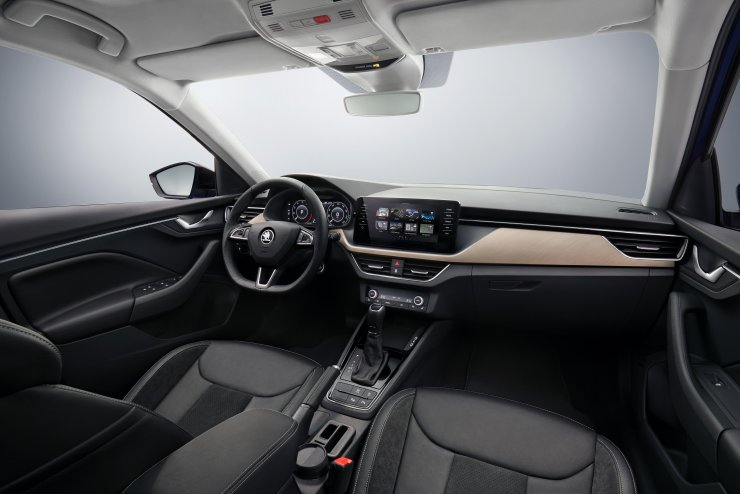 Skoda Scala Interior Dashboard