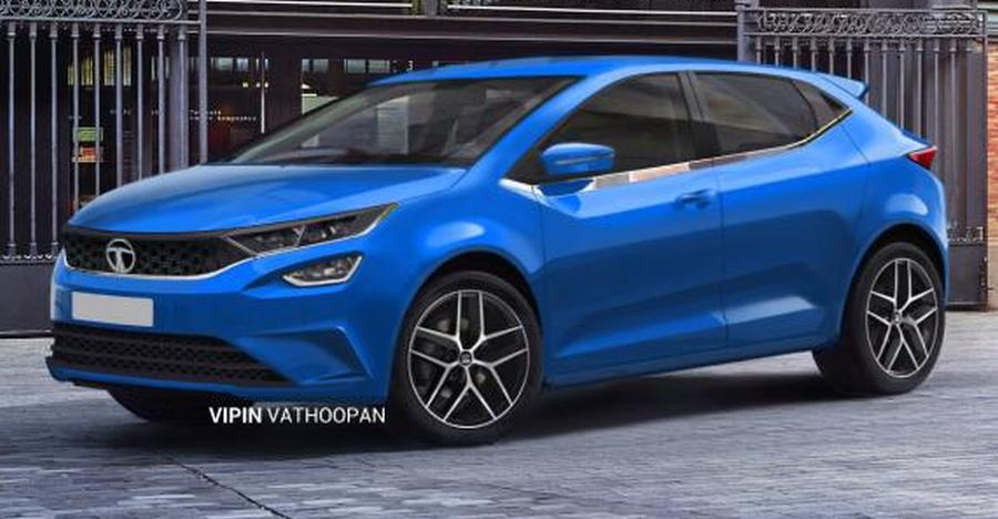 New teaser of Tata 45X premium hatchback released ahead of production version's reveal at Geneva