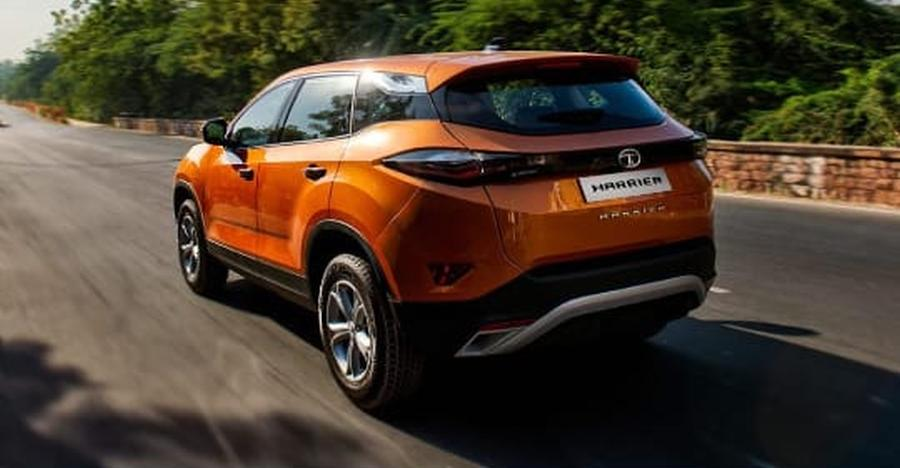 Tata Harrier SUV: Here's the first official picture of its rear