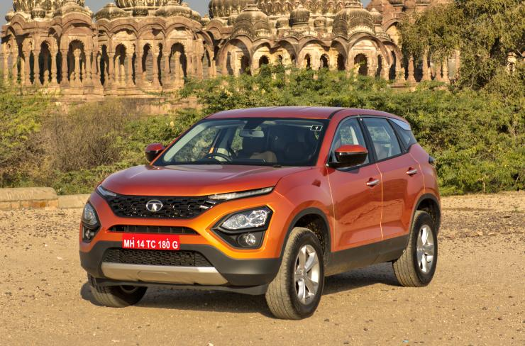 Tata Harrier Studio Shot 3