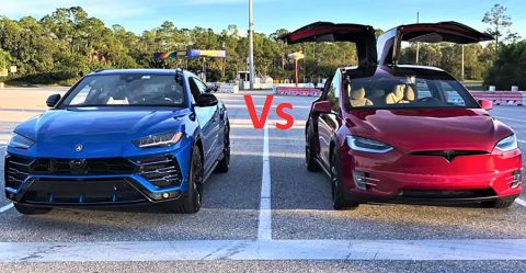 Tesla Vs Urus Featured
