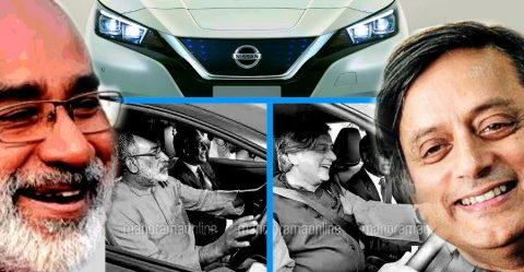 Tharoor Alphonse Nissan Leaf Featured 2