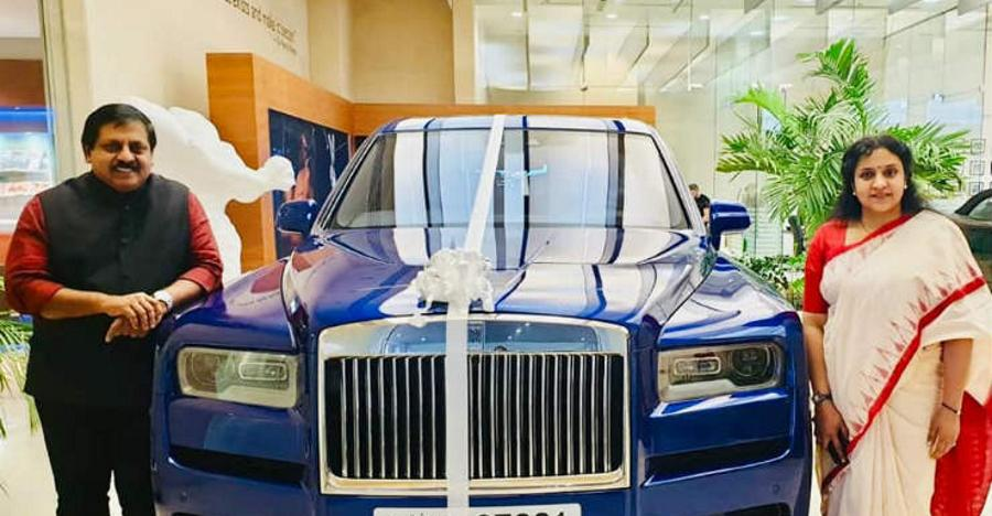 First Indian to take delivery of the Rolls Royce Cullinan SUV is a woman