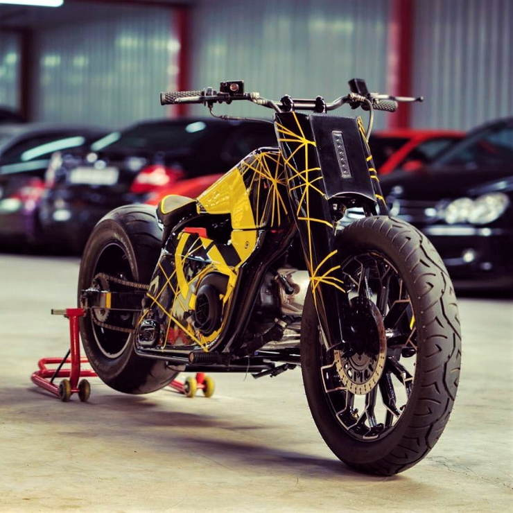 Aprilia Bike Mod Front Three Quarter