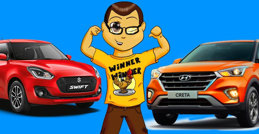 Maruti Dzire to Hyundai Creta: Meet India's top 10 best selling cars of 2018