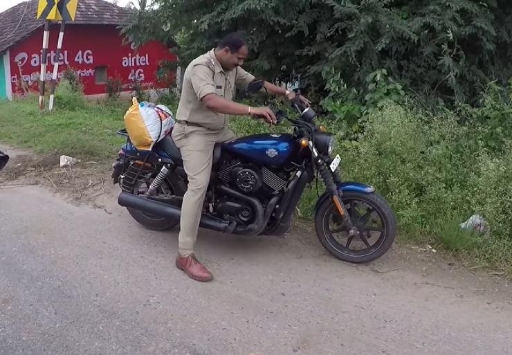 Cop Harley