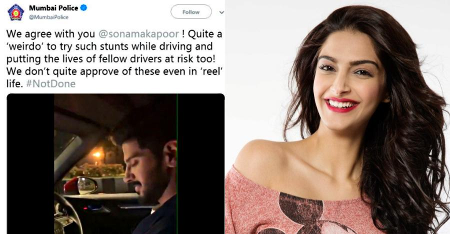 Mumbai police calls Dulquer Salman a 'Weirdo': Sonam Kapoor comes to his rescue