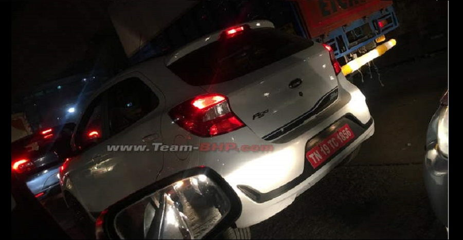 Upcoming Ford Figo facelift spied testing