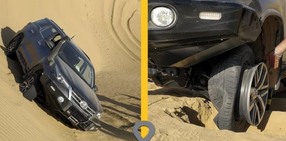 Toyota Fortuner tyre comes off while off roading: Here's why! [Video]