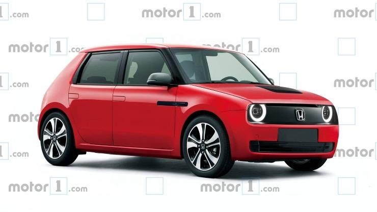 Honda Urban Ev Production Render