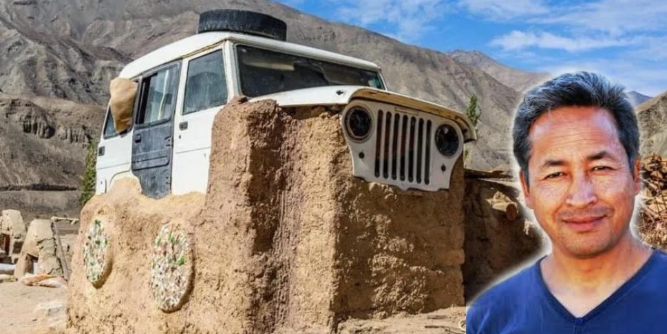 Sonam Wangchuk Reveals the Story of the Jeep House