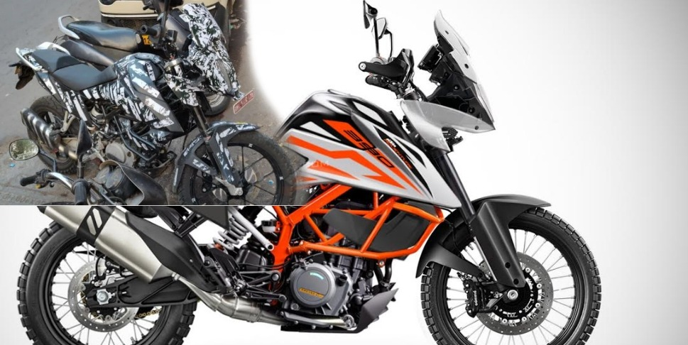 Spy Pics: KTM 390 Adventure spotted testing in India