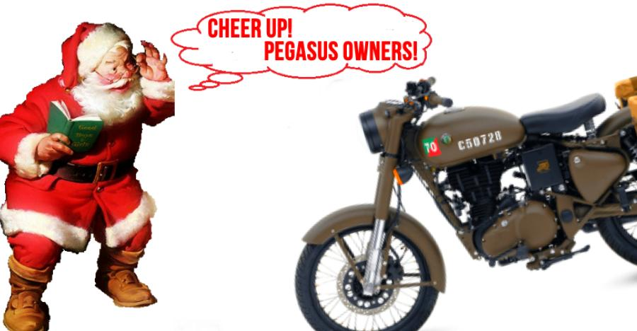 Royal Enfield turns Santa Claus for Classic 500 Pegasus owners: Here's why