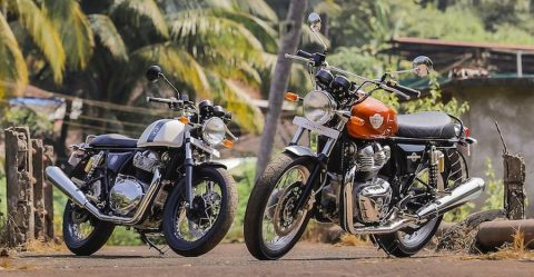 Royal Enfield Interceptor Continental Gt Featured
