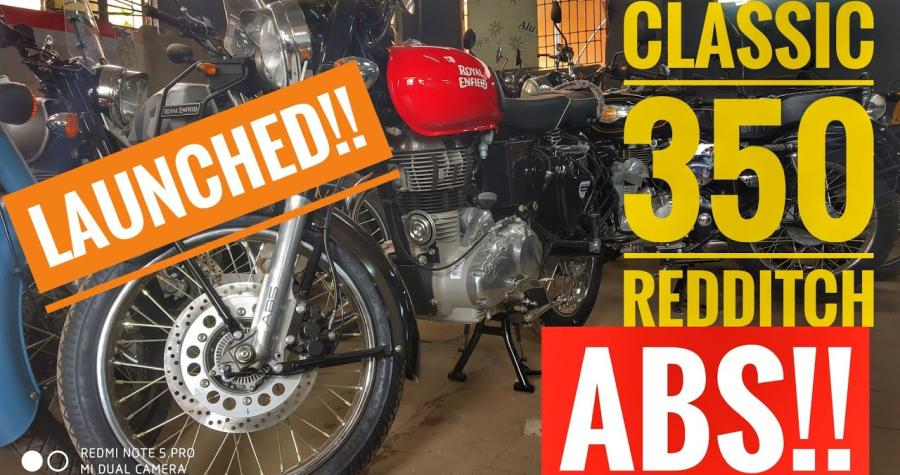 Royal Enfield Classic Redditch 350 ABS launched in India