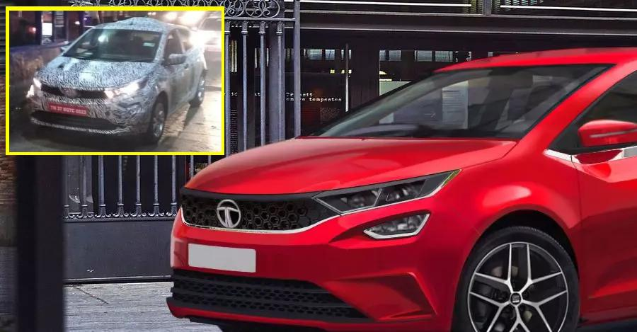 Tata 45X (Maruti Baleno rival) premium hatchback caught testing: Video + Spyshots